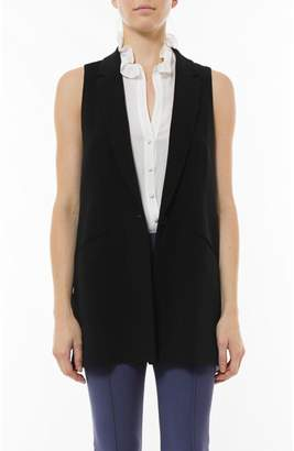 Elizabeth and James Tailored Garnet Vest