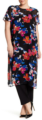 Vince Camuto Floral Rendezvous Tunic (Plus Size) $109 thestylecure.com