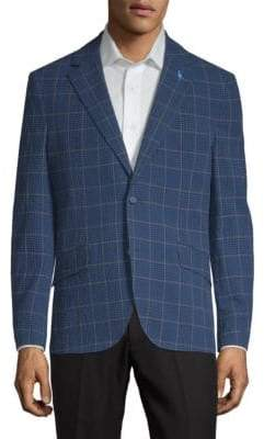 Tailorbyrd Hershel Checkered Jacket
