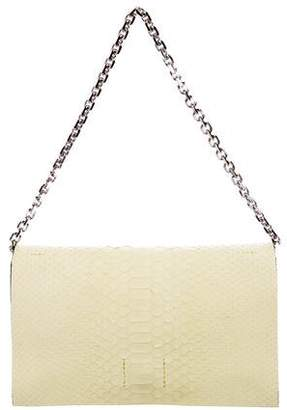 Calvin Klein Collection Snakeskin Clutch Bag