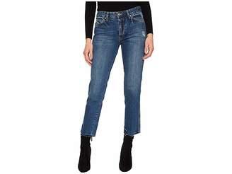 Free People Slim Boyfriend - Steel Blue Women's Jeans