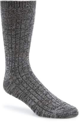 1901 Marled Ribbed Socks