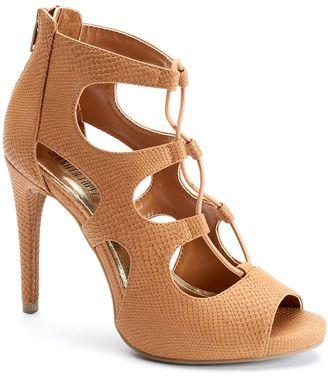 Jennifer Lopez Women's Peep-Toe High Heels $69.99 thestylecure.com