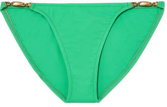 Melissa Odabash Mustique Bikini Briefs - Green