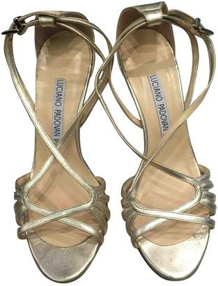 Luciano Padovan Leather sandals
