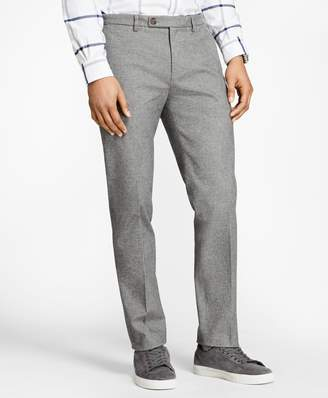 Brooks Brothers Slim-Fit Heathered Stretch-Twill Chinos