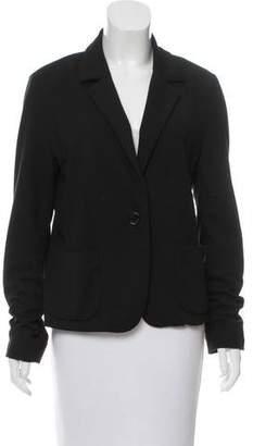 Tory Burch Notch-Lapel Single-Button Blazer