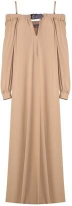 Alberta Ferretti Off-the-shoulder Viscose-jersey Long Dress