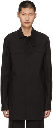 Rick Owens Black Field Shirt