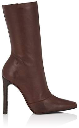 Yeezy Women's Stretch-Leather Ankle Boots