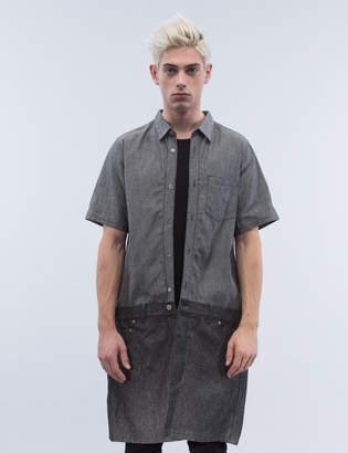 Kidill Denim Fake Jumsuit S/S Shirt