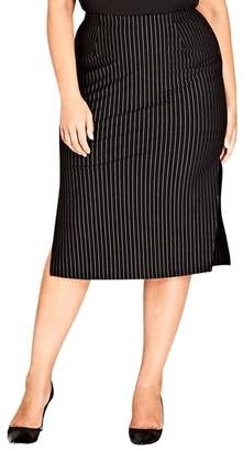 City Chic Chic City On Point Pencil skirt