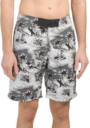 Surfer Print Board Shorts