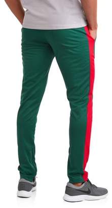 Hollywood Men's Poly Track Pant with Ankle Zippers