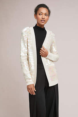 Knitted & Knotted Sequined Cardigan