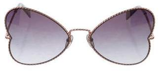 Marc Jacobs Butterfly Tinted Sunglasses