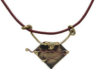 One Kings Lane Vintage Brass & Copper Pendant on Cord