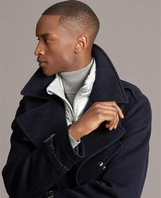 Ralph Lauren Wool Melton Trench Coat