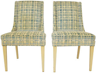 One Kings Lane Vintage Midcentury Accent Chairs - Set of 2