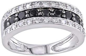 Black Diamond MODERN BRIDE Midnight 1/6 CT. T.W. Diamond & Color-Enhanced Accent Wedding Band