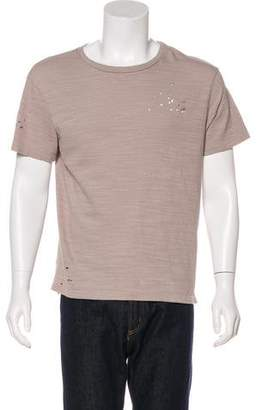 AllSaints Archie Distressed T-Shirt