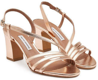 Tabitha Simmons Metallic Leather Charlie Sandals