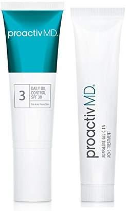 ProactivMD Full Size Daily Oil Control SPF 30 & Adapalene Duo
