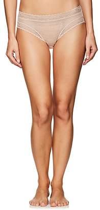 Eres Women's Stripes Lunch Lace Briefs - Beige, Tan