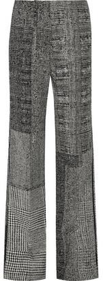 Jason Wu - Patchwork Wool-jacquard Wide-leg Pants - Gray $1,495 thestylecure.com