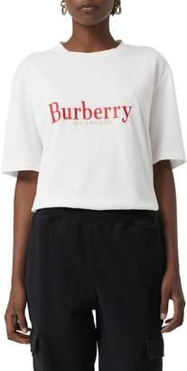 Burberry Lopori Archive Logo Tee