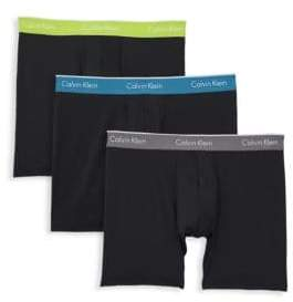 Calvin Klein Three-Pack Logo Boxer Briefs