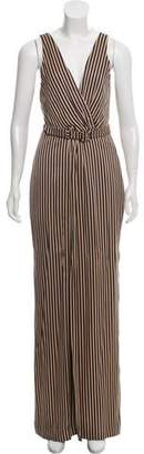 Jonathan Simkhai Wide-Leg Stripe Jumpsuit w/ Tags