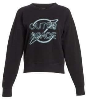 Rag & Bone Outer Space Cotton Sweatshirt