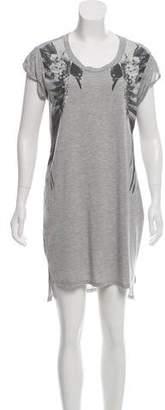 Haute Hippie Mini Short Sleeve Dress