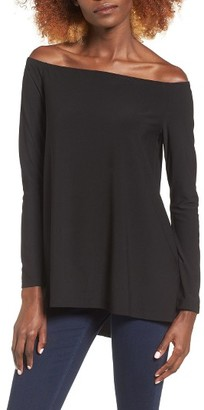 Women's Leith Off The Shoulder Tee $55 thestylecure.com