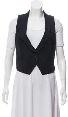 Etoile Isabel Marant Shawl Collar Welt Pocket Vest