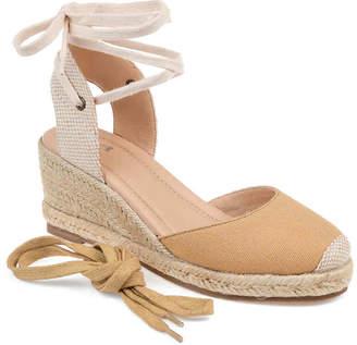 Journee Collection Monte Espadrille Wedge Sandal - Women's