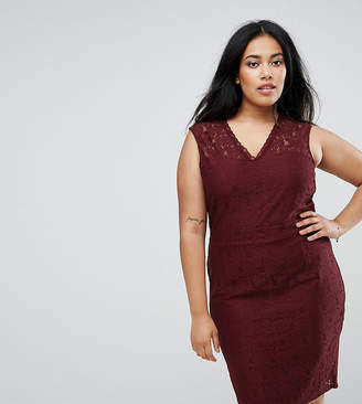 Junarose Lace Pencil Dress