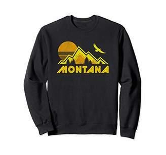Montana Vintage Style Retro Pullover Sweatshirt
