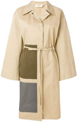 Ports 1961 belted panel detail coat