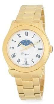 Salvatore Ferragamo Sapphire Stainless Steel Quartz Watch