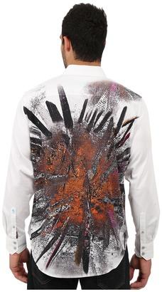 Robert Graham Volcanic Rock Sport Shirt $248 thestylecure.com