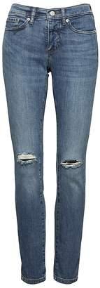 Banana Republic Slim-Straight Medium Wash Jean