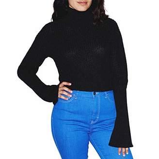 American Apparel Women's Fisherman Bell Sleeve Sweater