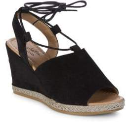 Seychelles Whatnot Peeptoe Wedge Heels