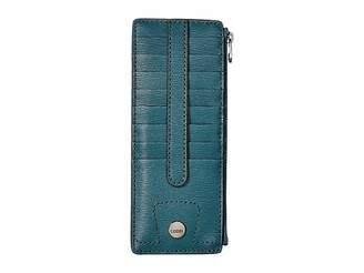 Lodis Belair Credit Card Case with Zipper Pocket