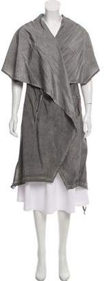 Damir Doma Silk Sleeveless Casual Vest