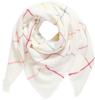 Women's Bp. Multicolor Grid Square Scarf $29 thestylecure.com