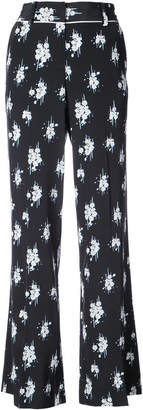 Derek Lam 10 Crosby Printed Pajama Trousers