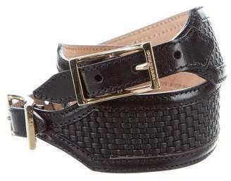 Burberry Woven Waist Belt